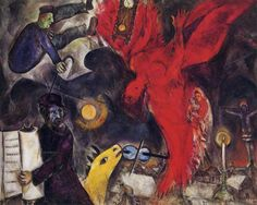 The Falling Angel  - Marc Chagall