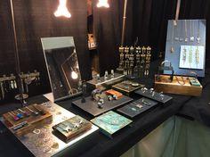 Metal Jewellery Display, Little Rock Jewellery Studio