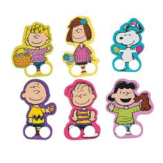 Peanuts®+Easter+Finger+Puppets+-+OrientalTrading.com