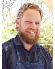 Kobus van der Merwe winner of the Restaurant of the Year award for his restaurant #Wolfgat in# Paternoster.