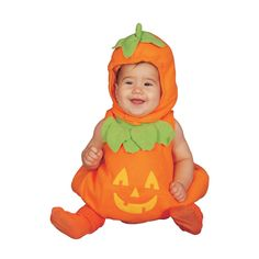 Baby Pumpkin Costume Set - Size 6-12 mo.