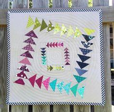 Kwik Jeli Wonky Geese Pattern | Craftsy