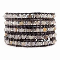 Bracelets Fashion Jewelry Aspiring Rainbow Multi-colour & Silver Macrame Wrapped Adjustable Bracelet Bangle