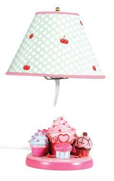 Cupcake lamp!