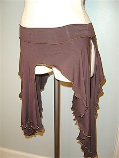 The Joyanna Tribal Belly Dance Skirt Playa by AccentuatesClothing, $45.00