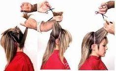 Imagini pentru cortes de pelo paso a paso