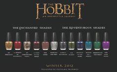 Hobbit nail polish collection by OPI