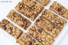 Peanut butter cup granola bars #peanutbutter #chocolate