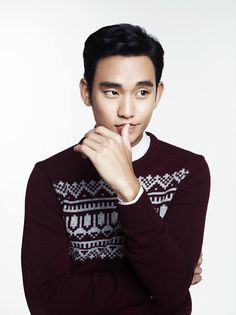 Kim Soo Hyun for ZIOZIA's F/W 2013 Campaign
