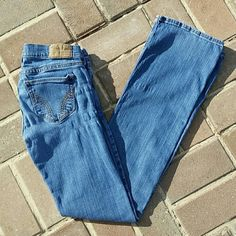 Hollister jeans No stains or tears. Wore quite a bit, but still in great condition. Hollister Jeans