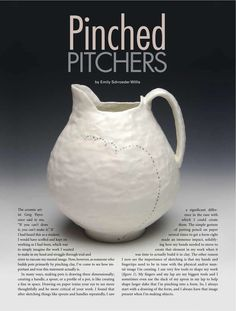 """Coming soon to a Pottery Making Illustrated near you...  """"Originally published in PotteryMaking Illustrated, March/April 2013,pp.  17-21.  http://ceramicartsdaily.org/pottery-making-illustrated  Copyright, The American Ceramic Society. Reprinted with permission."""""""