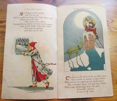 1917 The Night Before Christmas Childrens Book Illustrated Margaret Evans Price | eBay