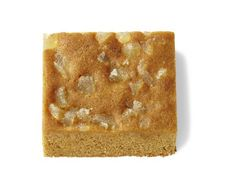 Ginger-Molasses Bars Melt 2 sticks butter; let cool slightly. Whisk in 1/2 cups sugar, 1/2 cup brown sugar and 1/2 cup Molasses. 3 eggs and 1 tablespoon vanilla. Stir in 2 cups flour, 1 t ground ginger and 1/4 teaspoon salt.  sprinkle with chopped crystallized ginger. Bake until the edges are set but the center is soft, about 25 minutes.