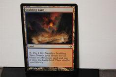 Scalding Tarn Magic The Gathering MTG Trading Card #WizardsoftheCoast White Plains, Collectible Cards, Wizards Of The Coast, Magic The Gathering, Mtg, Trading Cards, Island, Ebay, Collector Cards