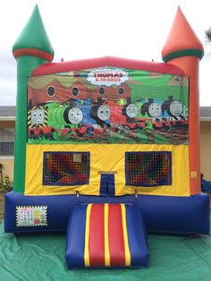 My Bounce Rentals 561-371-4708 Regular Bounce House Thomas the Train