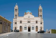 View of Anastasis church in Vrodado. Temple, Palaces, Place Of Worship, Notre Dame, Greece, Cyprus, World, Building, Islands