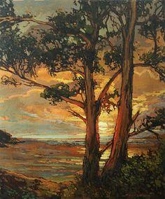 End Of A Glorious Day by Jan Schmuckal Oil ~ 24 x 20 Western Landscape, Landscape Art, Landscape Paintings, Landscapes, Craftsman Artwork, Craftsman Style, Illinois, Vancouver Art Gallery, Selling Paintings