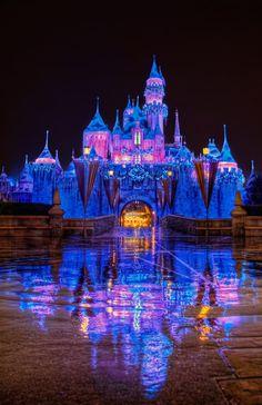 Disneyland at Christmas
