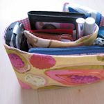 *Free* purse organizer patterns from TipNut.  Clever ideas using different   techniques.   #DIY #craft #organizer