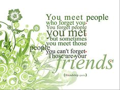 I am blessed with friends