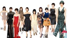 InStyle Korea April 2015 | j contentree M&B magazine | 배두나 Bae DooNa's fashion varying from 2009-2014