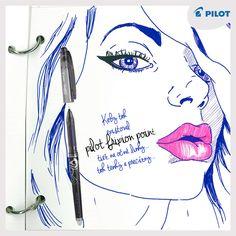 Kiež by existoval #Frixion #Point aj na očné linky ... :) tak tenký a precízny!
