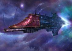 Fantasy Flight Games [News] - Building a Rogue Trader Vessel