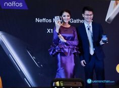 Neffos X1 Lite with Fazura