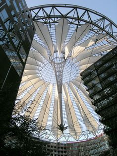 Sony Center Forum Roof, Berlin, Germany