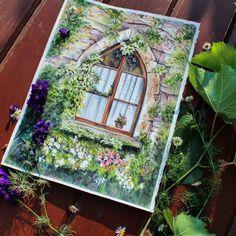 Cécile Corbel - Neige Watercolour Painting, Floral Watercolor, Painting & Drawing, Watercolours, A Level Art, Pincel, Doodle Sketch, Canson, Art Inspo