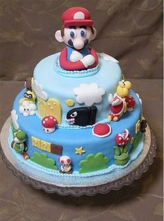 Video game themed cakes :)