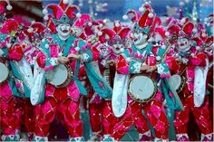mummers parade in person = more fun than watching on tv?  has to be, right?