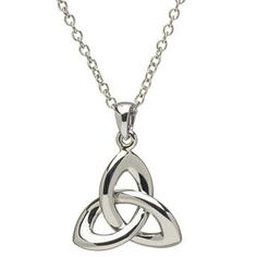 Trinity Knot Necklace at Creative Irish Gifts.