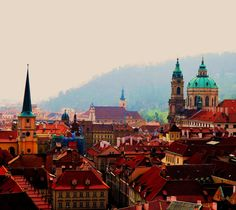 I traveled to Prague with the Montana Youth Choir when it was still Czechoslovakia