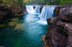 austrálie vodopád