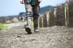 People from farming backgrounds in the study had a normal walking speed of 1.36m/s on average.