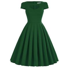 Vintage Party Swing Dresses Gender: Women Waistline: Natural Material: Cotton, Polyester Dresses Length: Knee-Length Neckline: O-Neck Silhouette: A-Line Sleeve Length: Short NOTE: Please allow 2-3 wee