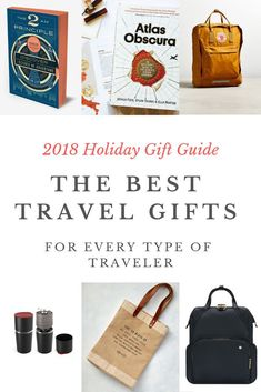 Looking for fresh and unique gifts for the traveler in your life? Discover useful travel gifts that he or she will love now! - www.travelswithelle.com