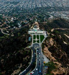 Los Angeles Griffith Observatory by @copterpilotla by CaliforniaFeelings.com california cali LA CA SF SanDiego