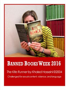 Bellevue University Library is celebrating Banned Books Week - September 25, through October 1, 2016.