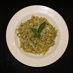 Very Simple Fresh Pasta with Herb Sauce Recipe.