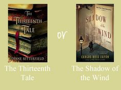Care to join an online book club? Help us choose which book to read first!