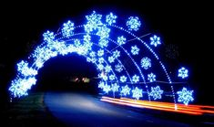 Stare at twinkling lights and festive displays. You're going to love exploring the largest drive-thru light show in West Virginia. Winter Light Festival, Festival Lights, Holiday Festival, Holiday Lights, Christmas Lights, Light Tunnel, Christmas Light Show, Abandoned Amusement Parks, Light Installation