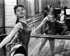 Audrey Hepburn Ballet Dancing Early 1950's