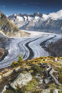 Aletsch Galcier, Switzerland - Chris Hopkins