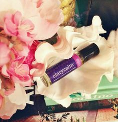 Essential Oils to Relieve PMS + Endometriosis + Menopause - doTerra clary calm essential oil blend for women