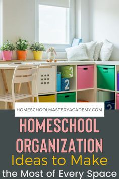 An organized homeschool room might be ideal, but most families don't homeschool that way. Try these homeschool organization ideas! #homeschool #organization #homeschoolspace #homeschooltips Homeschool High School, Homeschool Kindergarten, Homeschool Curriculum, Homeschooling, School Supplies Organization, Organization Ideas, Organizing, Lessons Learned, Super Simple