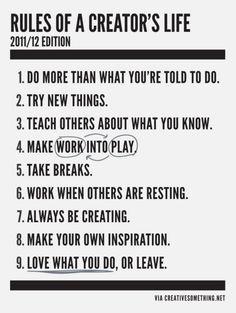To-Do's creative entrepreneur
