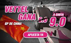 el forero jrvm y todos los bonos de deportes: wanabet supercuota 9 Vettel gana GP F1 China 17 ab...
