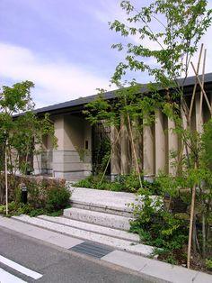 オープンエクステリア 和風 施工例S様邸 ザ・シーズン エクステリア、外構、ガーデン、お庭、モダンデザイン、ザ・シーズン名古屋、デザイナー蟹江徹、